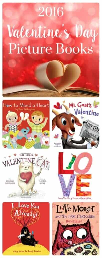 Valentines Day Picture Books 2016