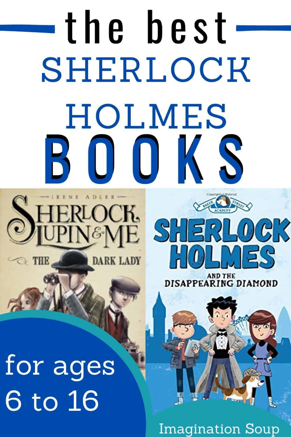 best Sherlock Holmes books for kids