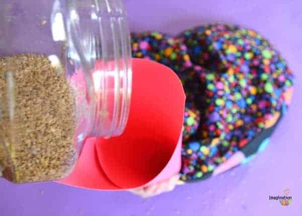 DIY Flaxseed Aromatherapy Warming Pillow heart pillow 5