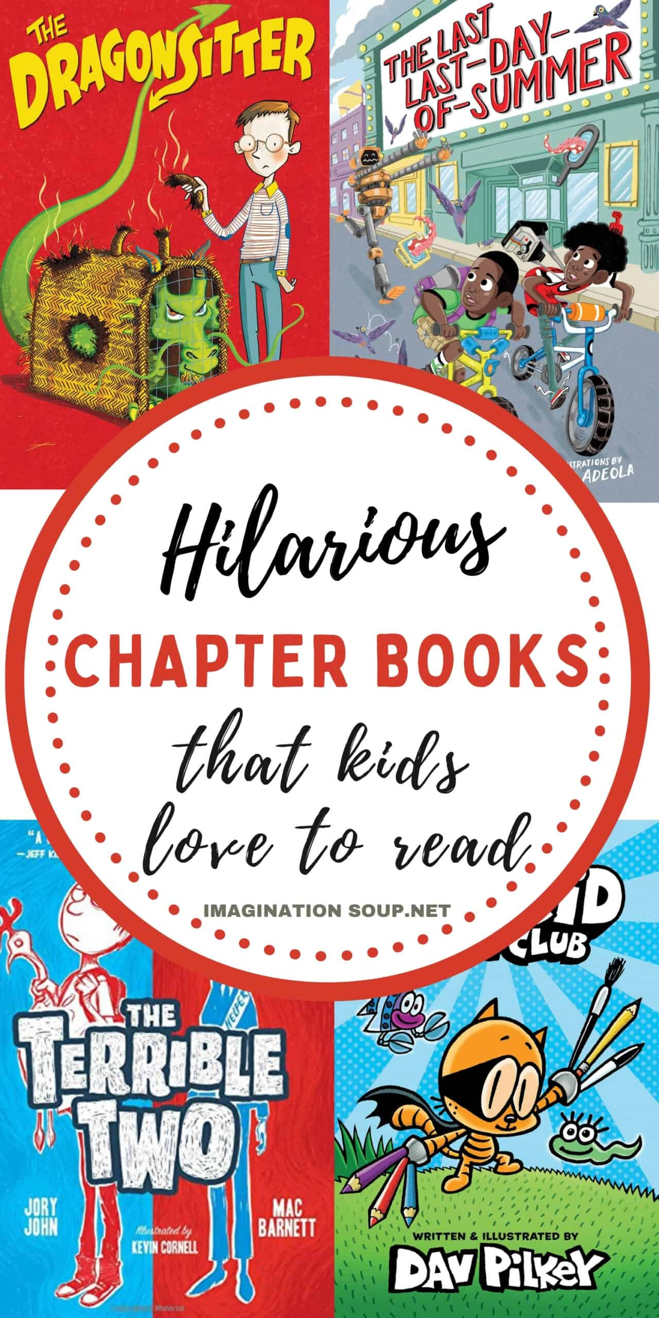 Funny Chapter Books for Kids That They'll Love   Imagination Soup