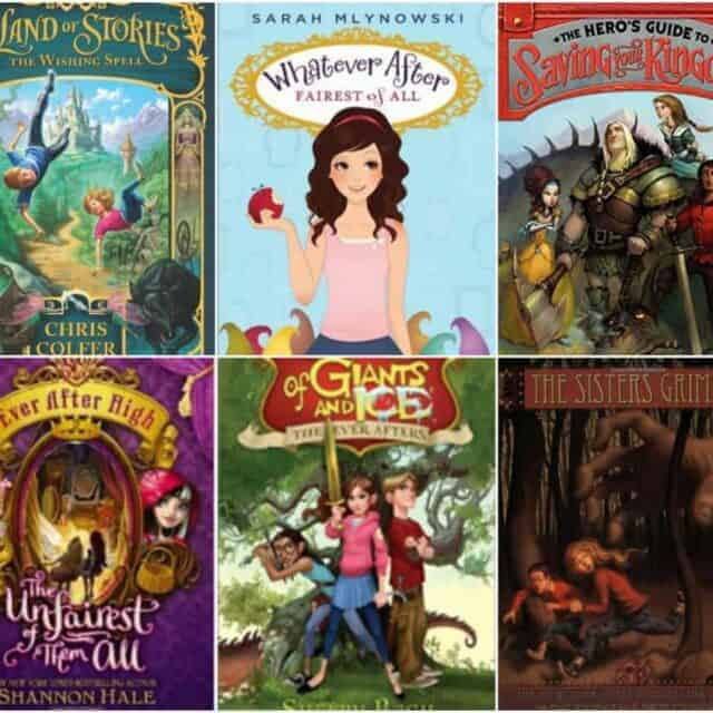fairy tale mashups chapter books for kids