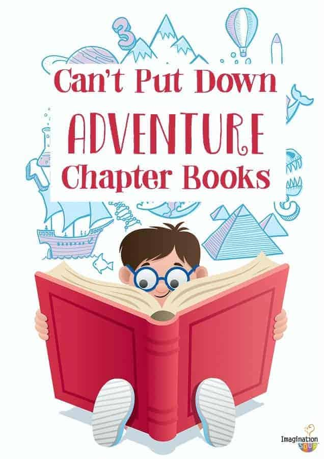 engaging adventure books that kids can't put down