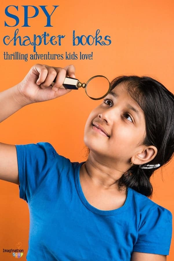 spy chapter books for kids