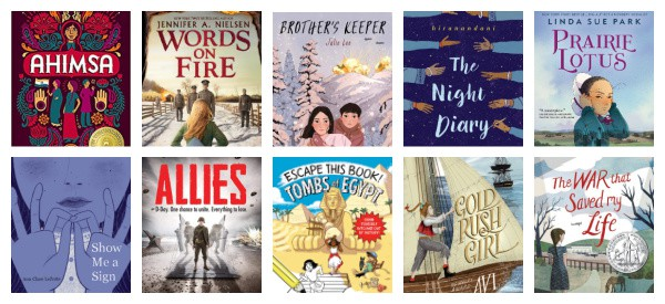 the best historical fiction chapter books for kids