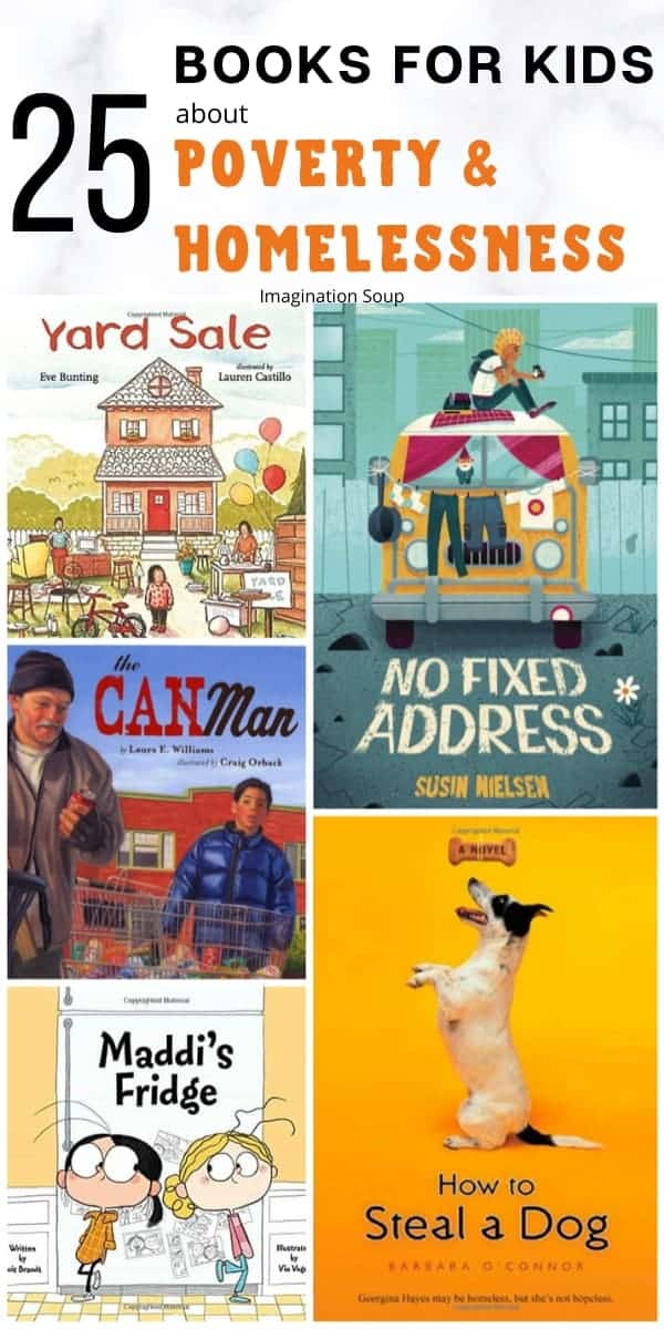 25 books for kids about poverty & homelessness