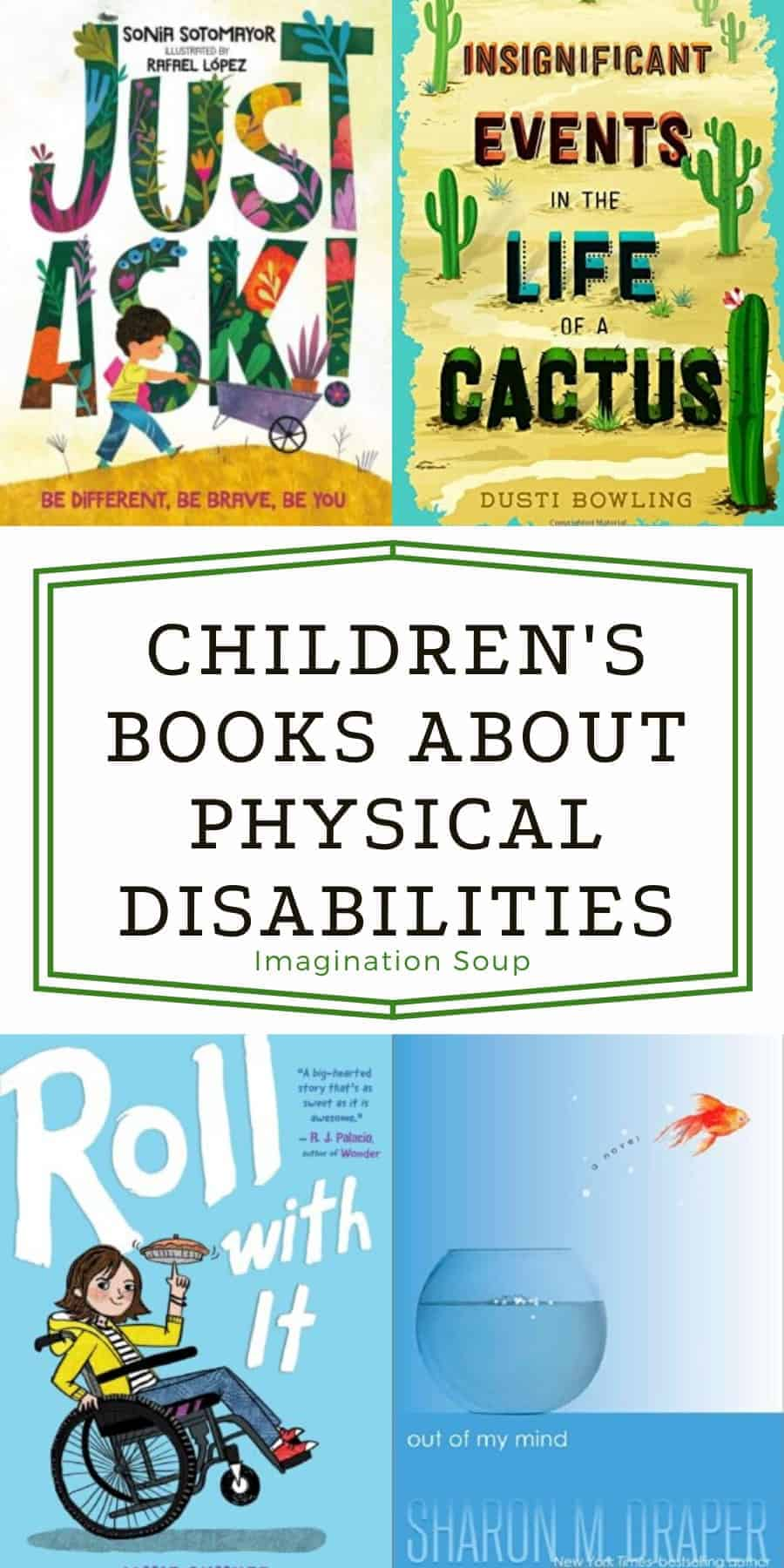 Children's Books with Characters Who Have Physical Differences / Disabilities