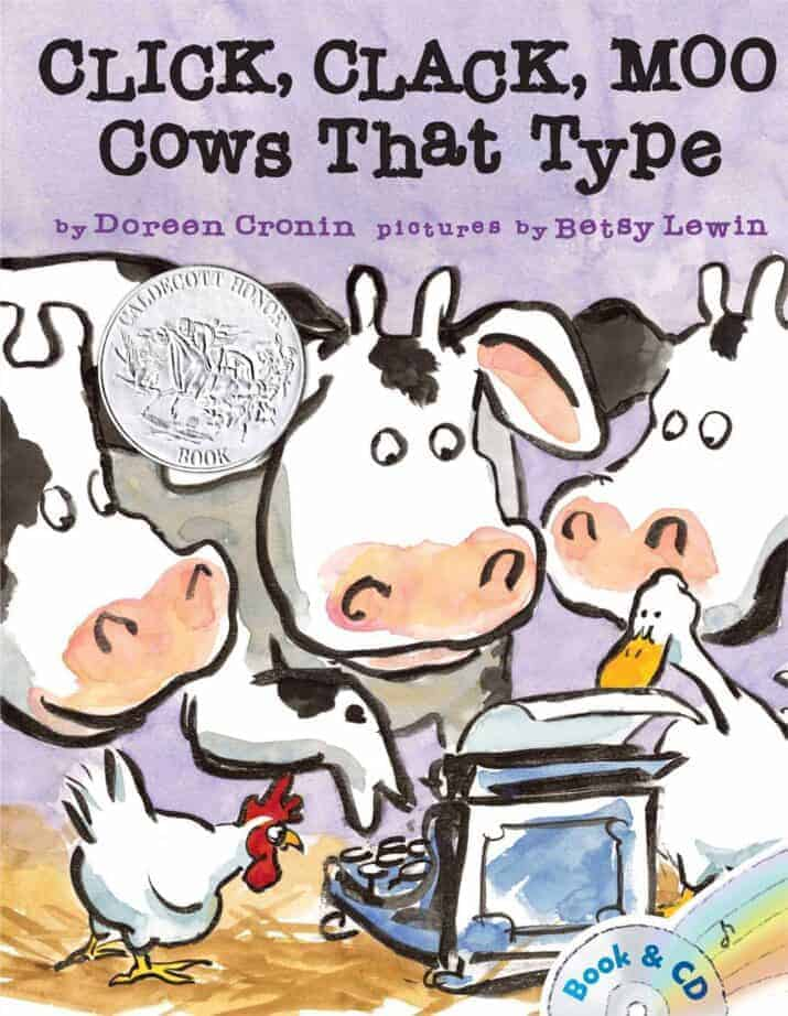 Click Clack Moo books about farms