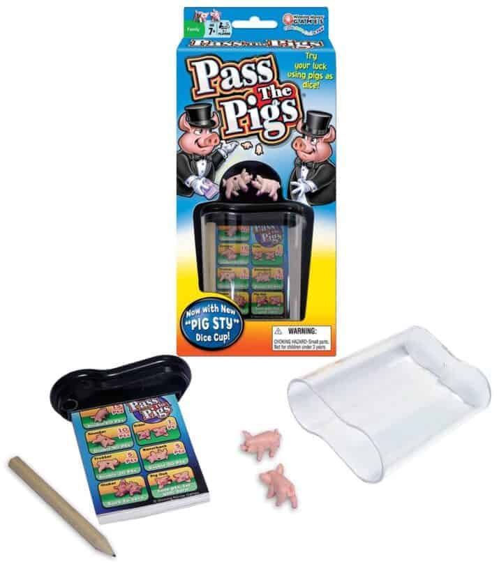 Pass the Pigs gifts games for boys