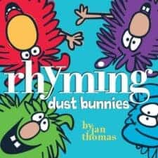 Rhyming Dust Bunnies funny books for kids