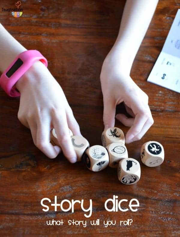 Roll a story with a Story Dice Game