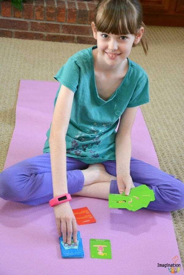 Yoga Cards Game for Kids Yoga for Kids: Daily Practice, Books, Videos, Games