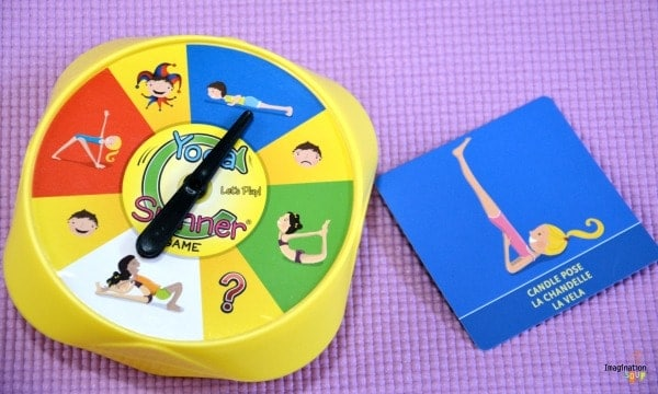 Yoga Spinner Game Yoga for Kids: Daily Practice, Books, Videos, Games