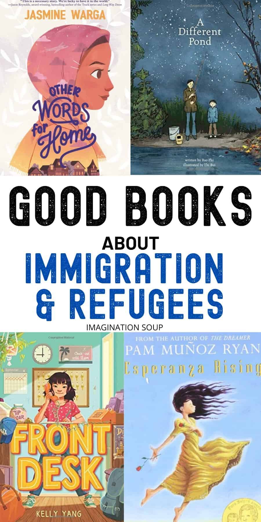 best books about immigration, migration, and refugees