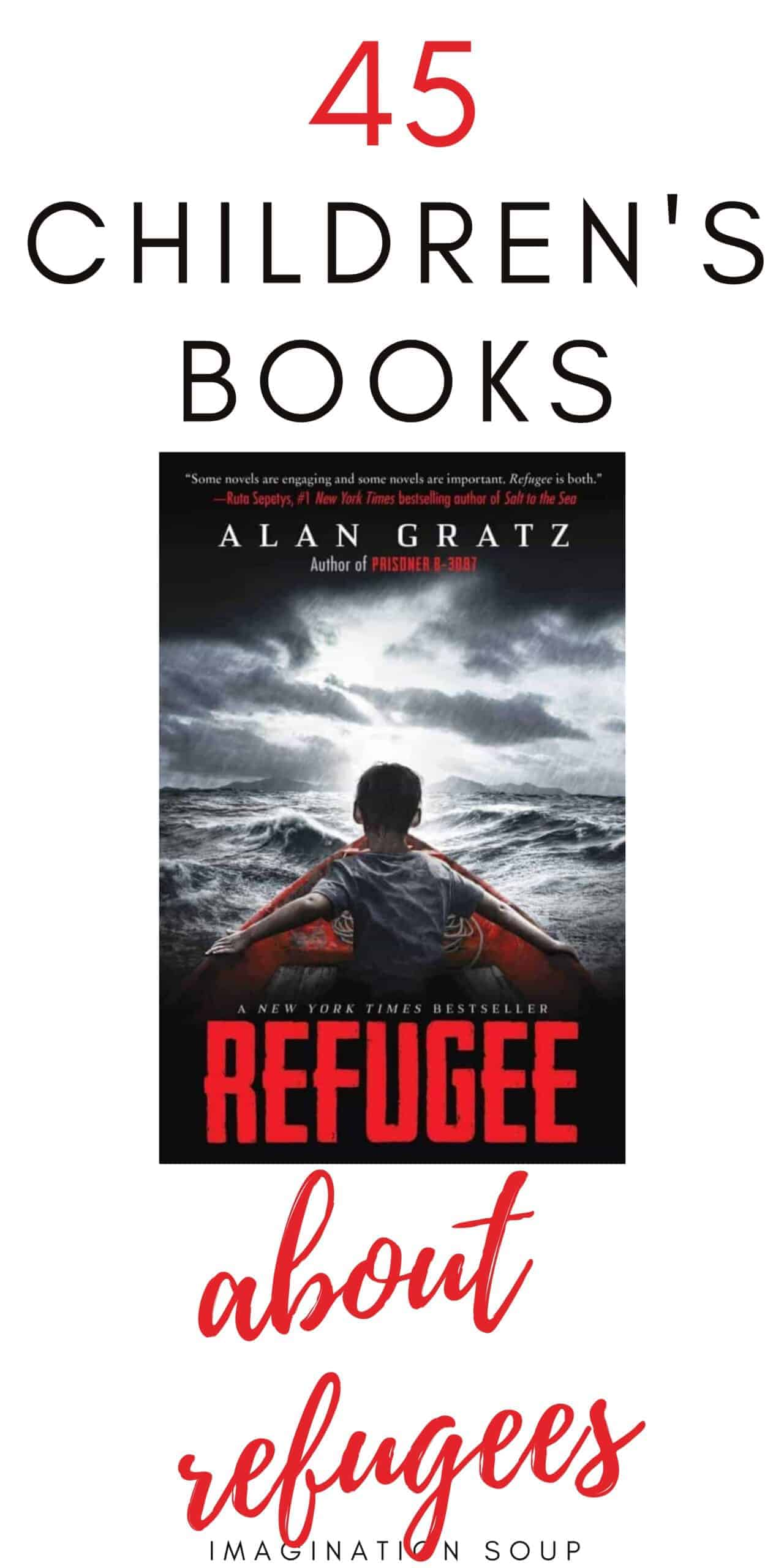 children's books about immigration and refugees