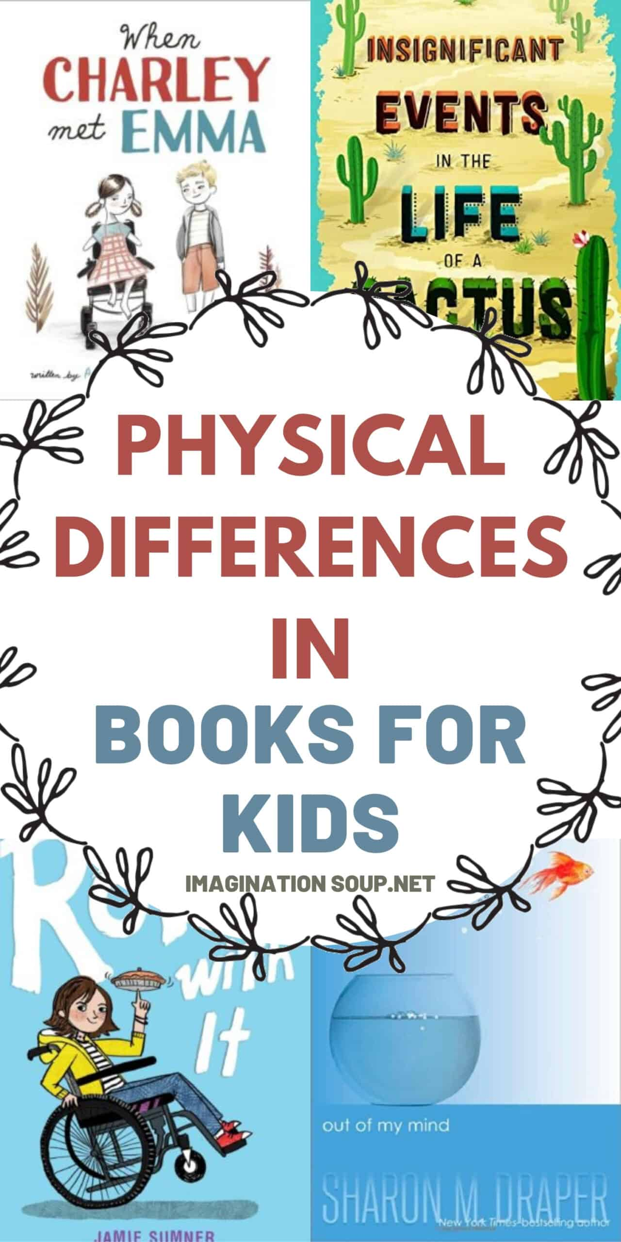 children's books with characters who have physical differences