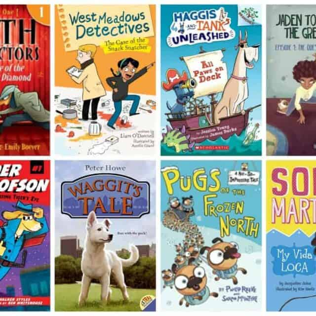 easy chapter book reviews for kids