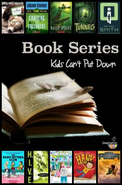 great books in series that kids love to read
