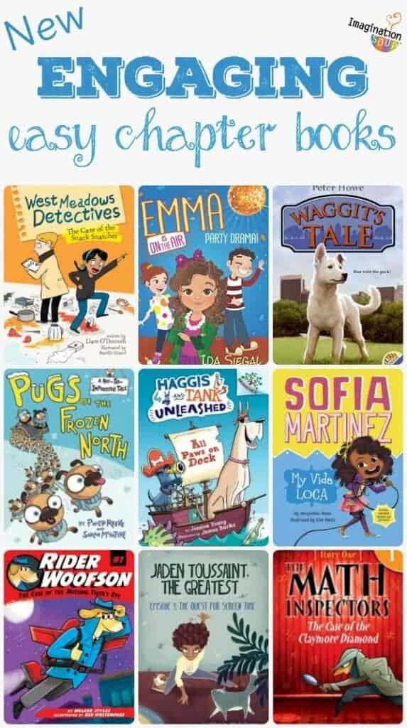 new engaging beginning easy chapter book recommendations