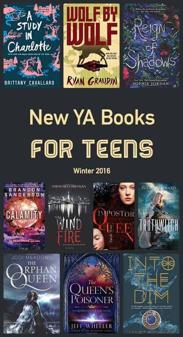 new ya books for teens and adults who love young adult