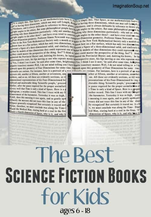 out of this world science fiction chapter books for kids