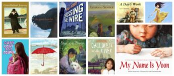 picture books and chapter books for kids about immigration