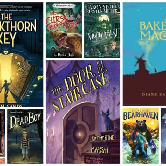 good fantasy books for kids with magic