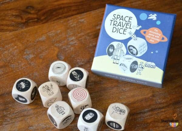 story dice game for kids and families
