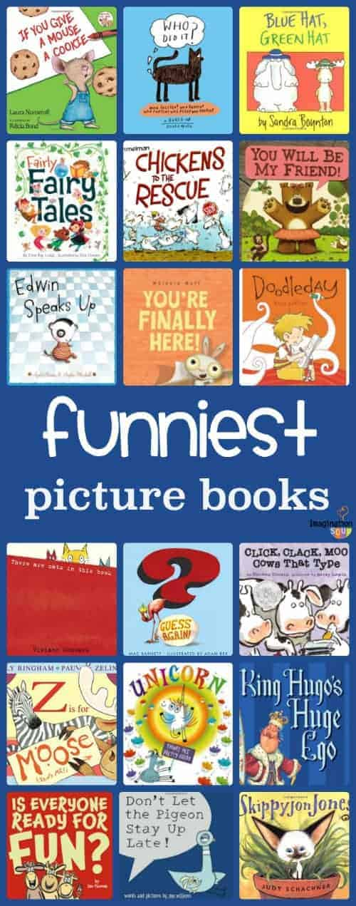 the funniest children's picture books for kids humor funny silly