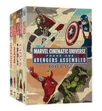 Avengers Phase One Boxed Set Out of This World Superhero Books for Kids