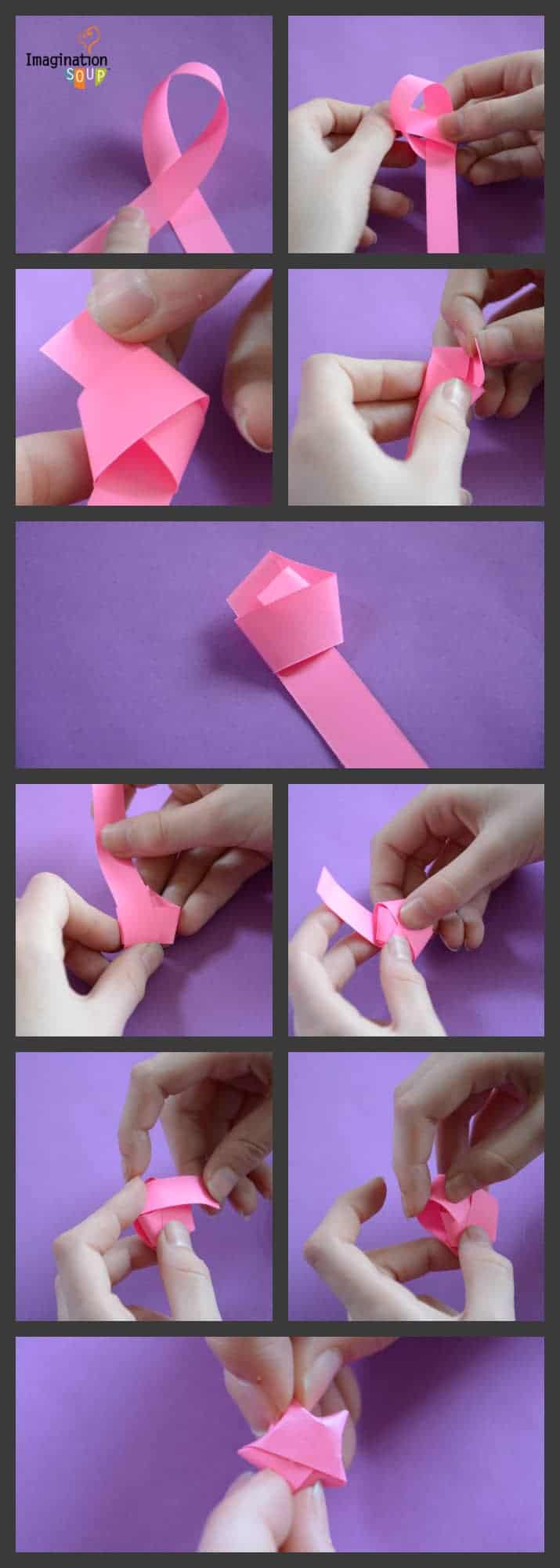 DIY origami stars for Star Darlings inspired craft #stardarlings