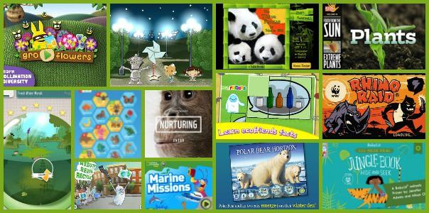 Earth Day Environmental STEM Apps for Kids