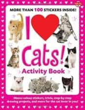 I Love Cats! Activity Book children's books about cats