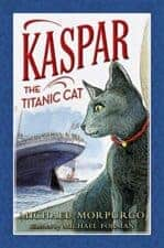 Kasper the Titanic Cat children's books about cats