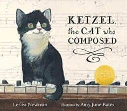 Kettle, the Cat Who Composed cat books for kids