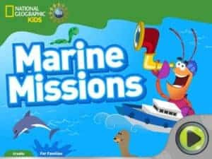 Marine Missions Great Earth Day (Environmental) Apps for Kids