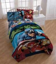 Marvel Avengers Comforter Sheet Set