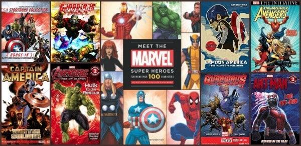 Marvel Comic Books Comics and Books for Kids