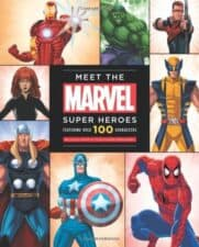 Marvel Super Heroes Out of This World Superhero Books for Kids