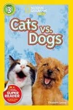 National Geographic Readers- Cats vs. Dogs children's books about cats