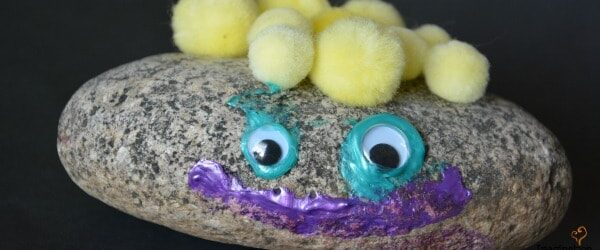 Project: Pet Rock (Craft and Writing Activity)