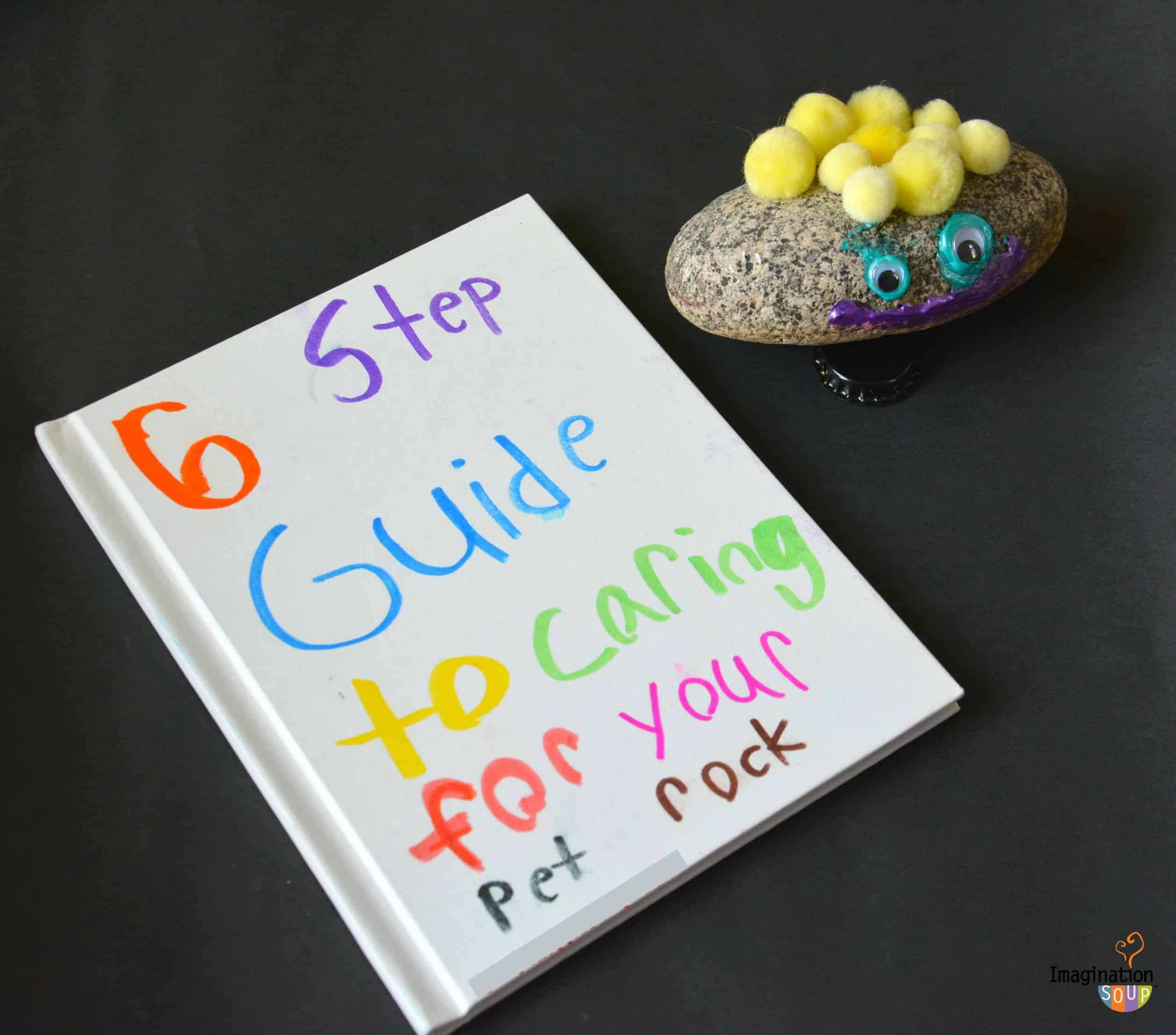 Project: Pet Rock (Craft and Writing Activity for Kids)