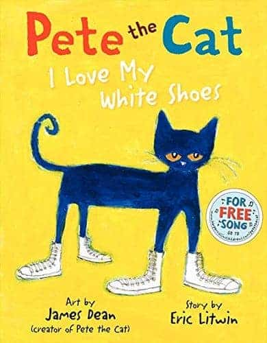 Pete the Cat- I Love My White Shoes Gifts for 4 Year Old Girls