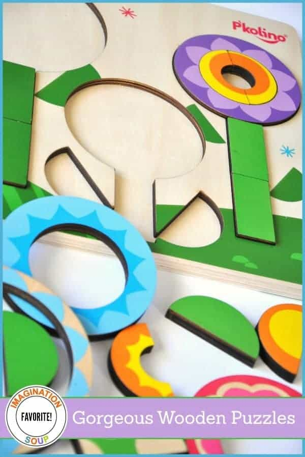 favorite wooden puzzles for toddler and preschoolers!