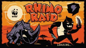 Rhino Raid Great Earth Day (Environmental) Apps for Kids