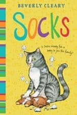 Socks children's books about cats