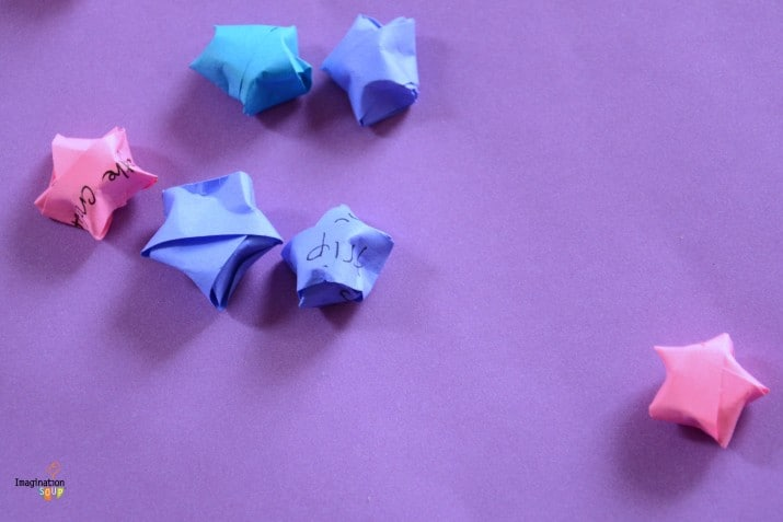 Make A Wish Jar! DIY Origami Stars