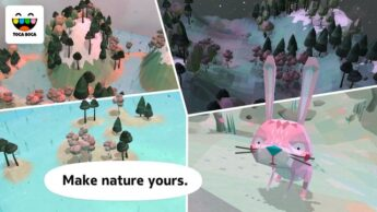Toca Nature Great Earth Day (Environmental) Apps for Kids