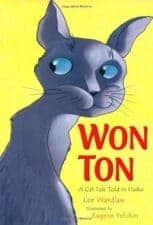 Won Ton- A Cat Tale Told in Haiku children's books about cats