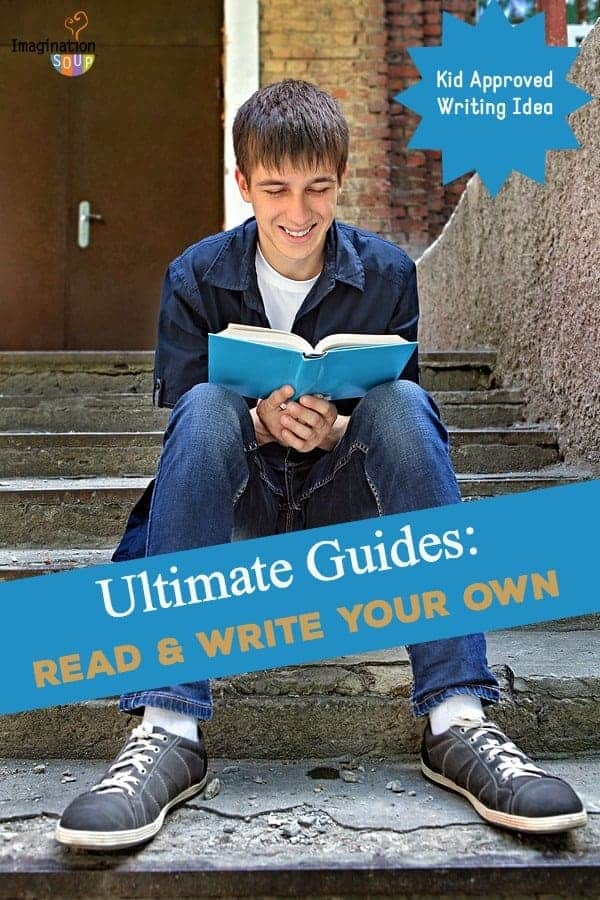 write an ultimate guide to any topic you want kid approved writing activity