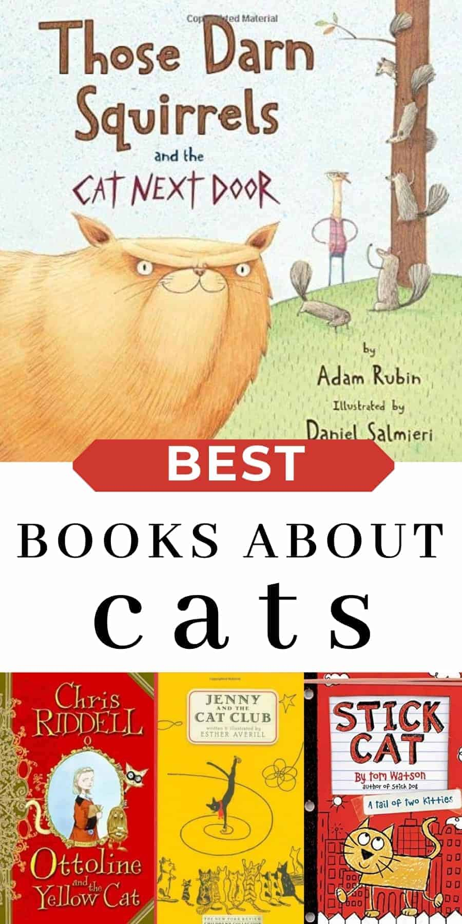 best books about cats for kids